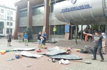 «Киевгорстрой» объявил забастовку: все стройки остановлены
