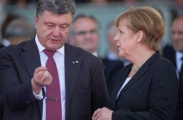 Порошенко и Меркель скоординировали позиции по имплементации «Минска»
