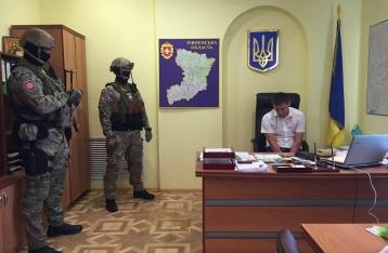 В ходе спецоперации «Янтарь» задержан прокурор Сарн