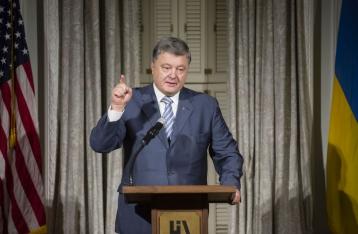 Порошенко: Украине совершенно безопасно передать летальное оружие