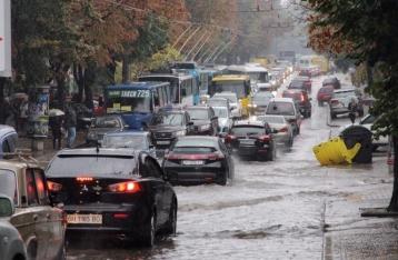 Потоп в Одессе: за сутки выпало почти три месячных нормы осадков