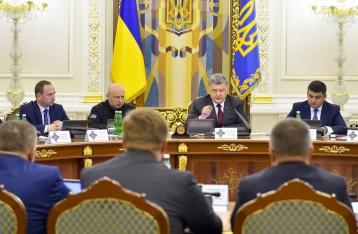 СНБО одобрил увеличение финансирования силовиков
