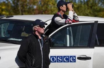 ОБСЕ: НВФ обустроили новые блокпосты у Станицы Луганской