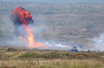 На Яворовском полигоне произошел взрыв, есть раненые