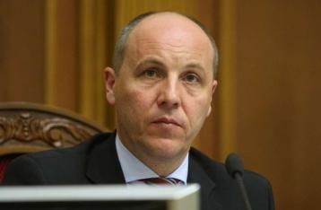Парубий предлагает расширить санкции против РФ и ввести визы