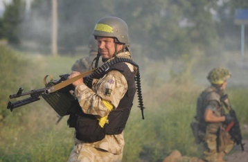 Штаб АТО обвинил НВФ в срыве разведения сил возле Петровского