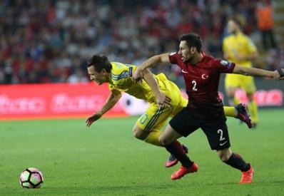 Украина упустила победу над Турцией