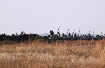 На участке Богдановка-Петровское начался отвод войск
