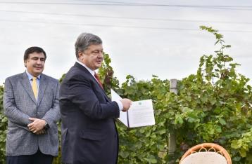 Порошенко утвердил отмену лицензии для мелких виноделов