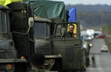 Минобороны: Разведение сил в Станице Луганской переносится