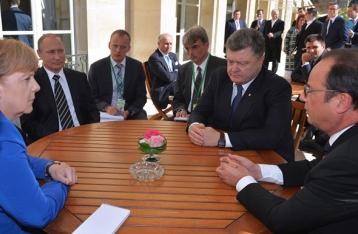 АП: Украину пока формально не приглашали на встречу «нормандской четверки»