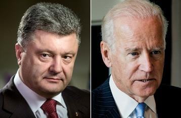 Порошенко и Байден: Санкции против РФ нужно продолжить