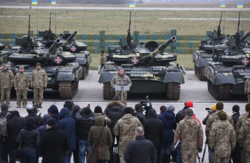 Президент передал ВСУ более 150 единиц техники