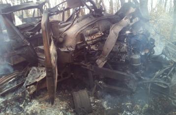 На Луганщине автомобиль с военными подорвался на мине, есть жертвы