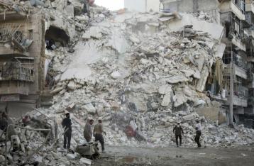 ЕС считает атаки на Алеппо военными преступлениями