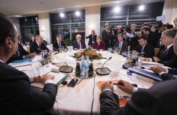 У Путина заявляют, что в Берлине не обсуждали размещение вооруженной миссии на границе
