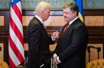 Порошенко обсудил с Байденом привлечение США к реализации «Минска»