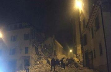 В Италии произошли три землетрясения за сутки