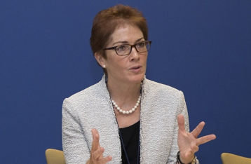 Посол США назвала условие проведения выборов на Донбассе