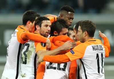 «Шахтер» забил «Генту» пять мячей и досрочно вышел в плей-офф Лиги Европы