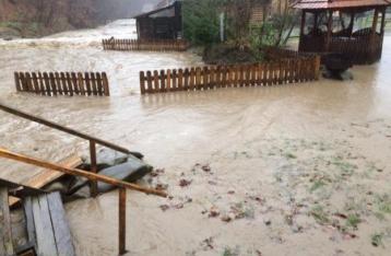 На Закарпатье – крупнейший за десятилетие паводок