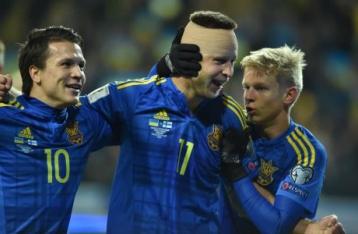 Украина обыграла Финляндию и вышла на 2-е место в отборе ЧМ