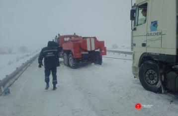 Снегопад в Украине: Аварии, заторы, отмена занятий в школах