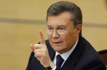 Янукович требует наказать Луценко за оскорбление в его адрес