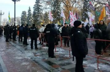 Центр Киева перекрыт: проходят два митинга