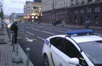 В Киеве перекрыты центральные улицы