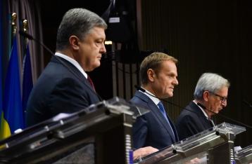 Порошенко: ЕС должен своевременно выполнить обязательства по безвизу