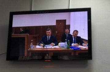 Видеодопрос Януковича (онлайн-трансляция)