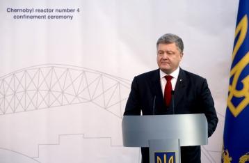 Порошенко: Чернобыльское испытание оказалось не самым страшным для Украины