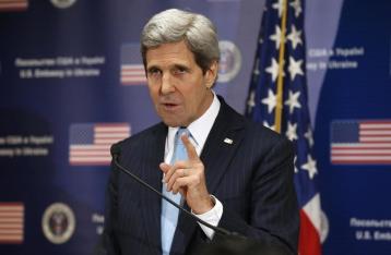 Керри: Санкции не позволили России добраться до Киева