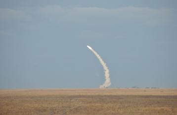 Обнародовано видео ракетных стрельб возле Крыма