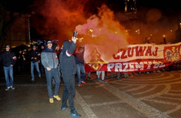 Украина попросит Польшу расследовать инцидент на марше в Перемышле