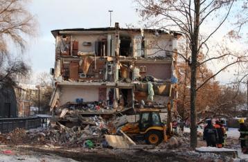 Обрушение дома в Чернигове: информация о взрыве не подтвердилась