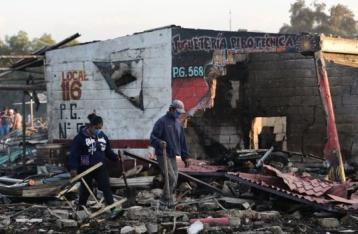 Жертвами взрыва на рынке фейерверков в Мексике стали 29 человек