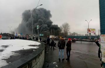 Спасатели локализовали пожар возле «Дарынка»