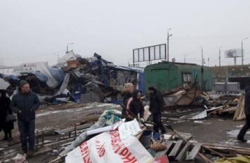 Луценко поручил проверить законность сноса столичных МАФов