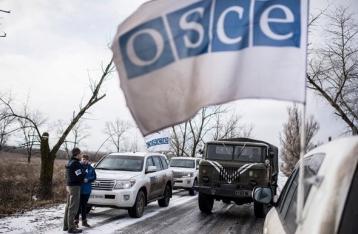 ОБСЕ эвакуировала базу из Светлодарска из-за обстрелов