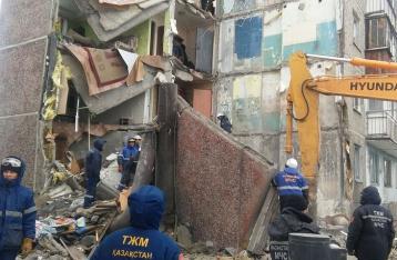 В Казахстане обрушилась многоэтажка: девять погибших