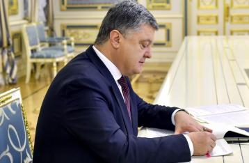 Порошенко одобрил расторжение военными «бессрочных» контрактов
