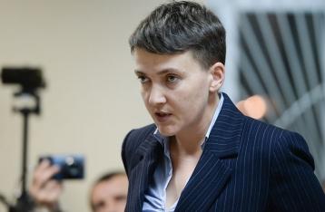 Савченко заявляет, что у нее есть еще один список пленных