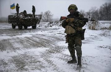 За прошлые сутки погиб один военный, трое – ранены