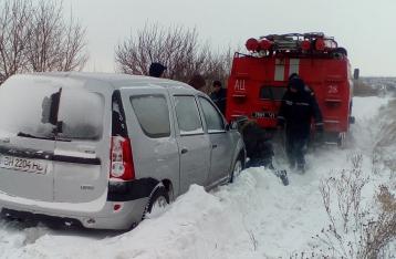 Из-за непогоды ограничено движение в трех областях Украины