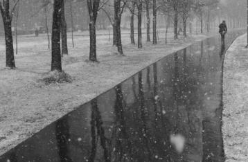 В Украине сегодня дождь со снегом
