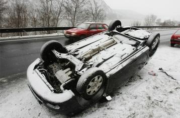 За прошлые сутки на украинских дорогах погибли 9 человек