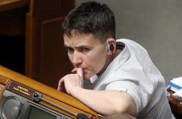 Савченко решили исключить из комитета по нацбезопасности