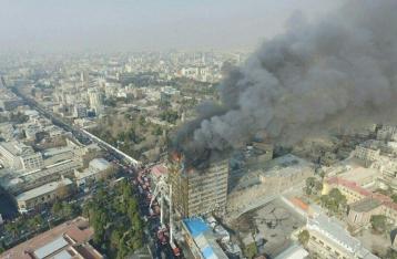В Тегеране обрушился 17-этажный торговый центр, погибли 30 человек